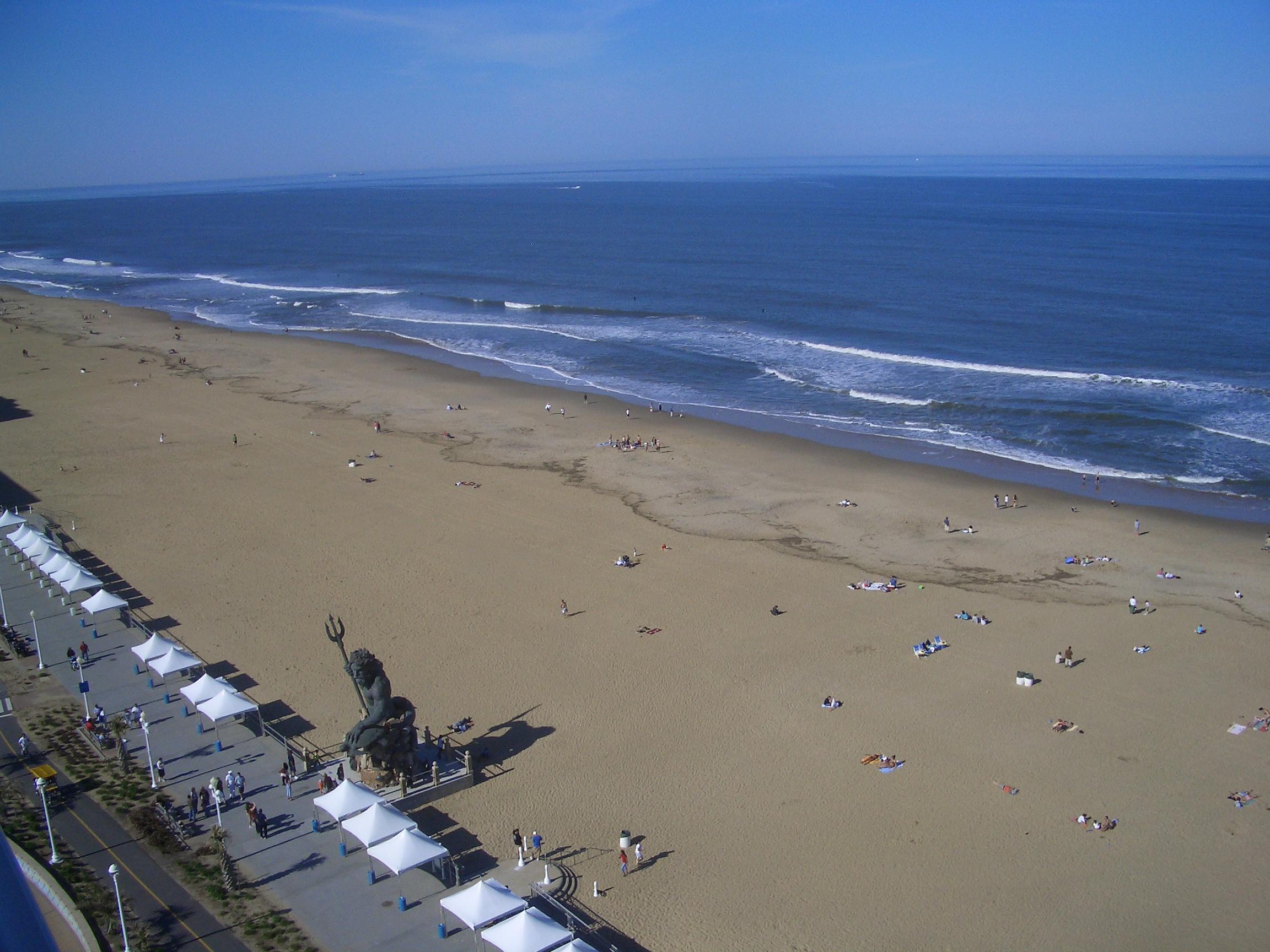 The VIrginia Beach Oceanfront