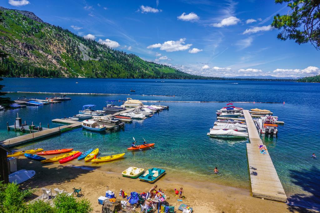 Lake Tahoe Summer Kayaks