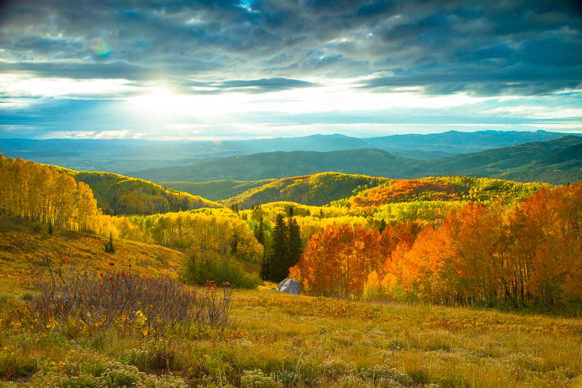 Yampa Valley views in the fall