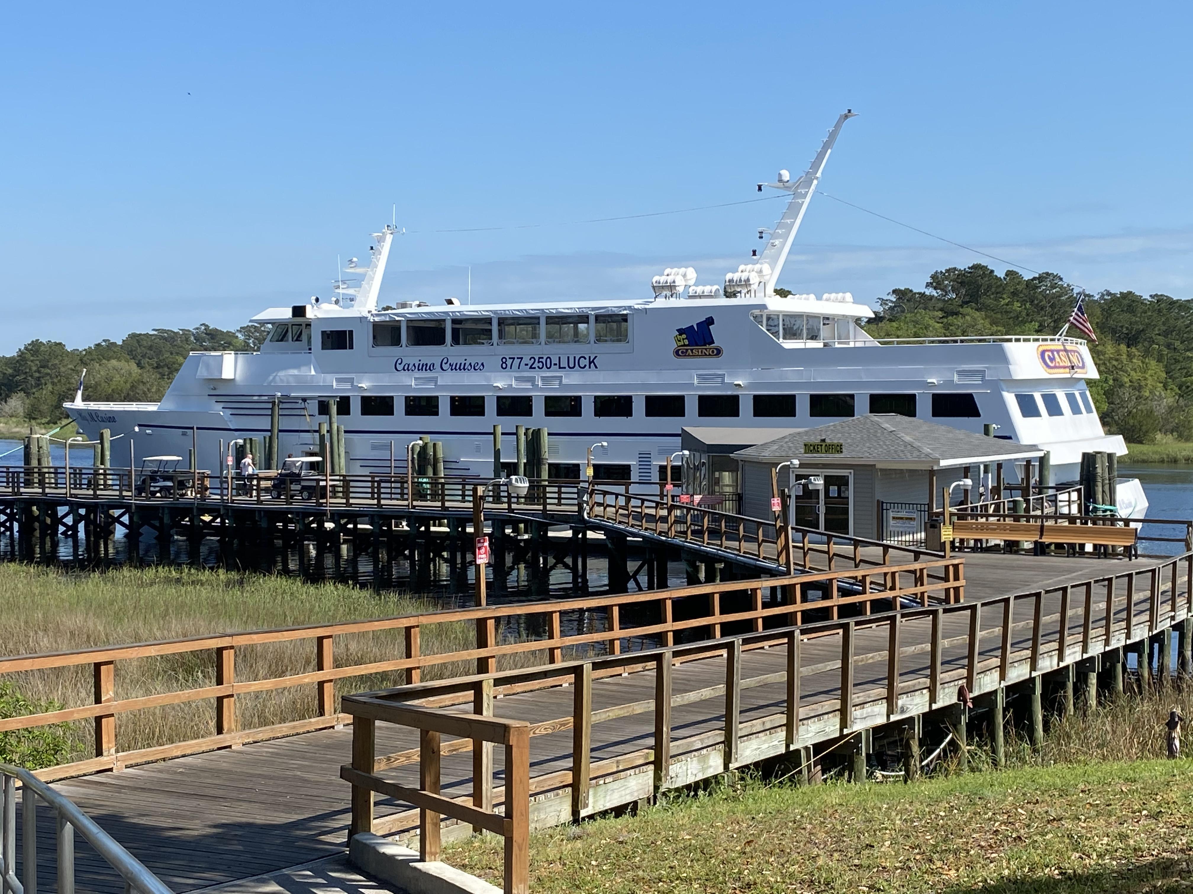 "Big ""M"" Casino Boat - Little River Waterfront"