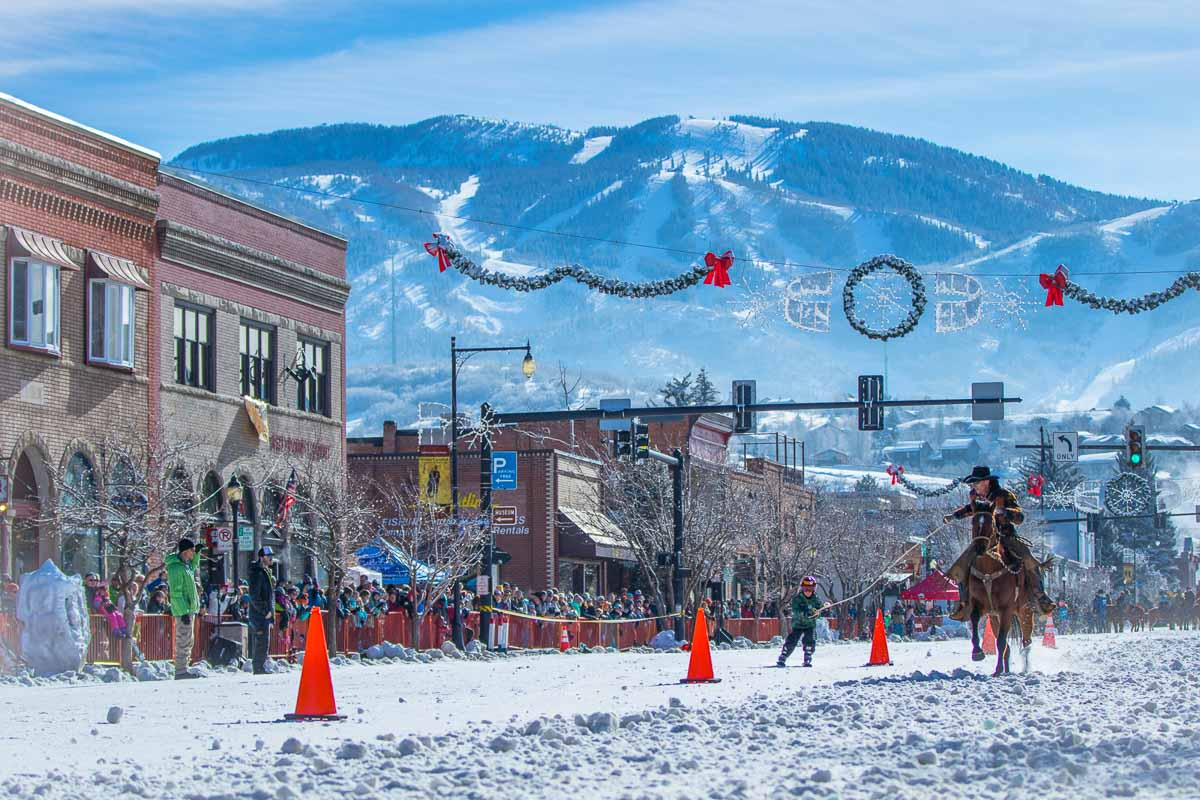 Winter Carnival in historic downtown Steamboat Springs