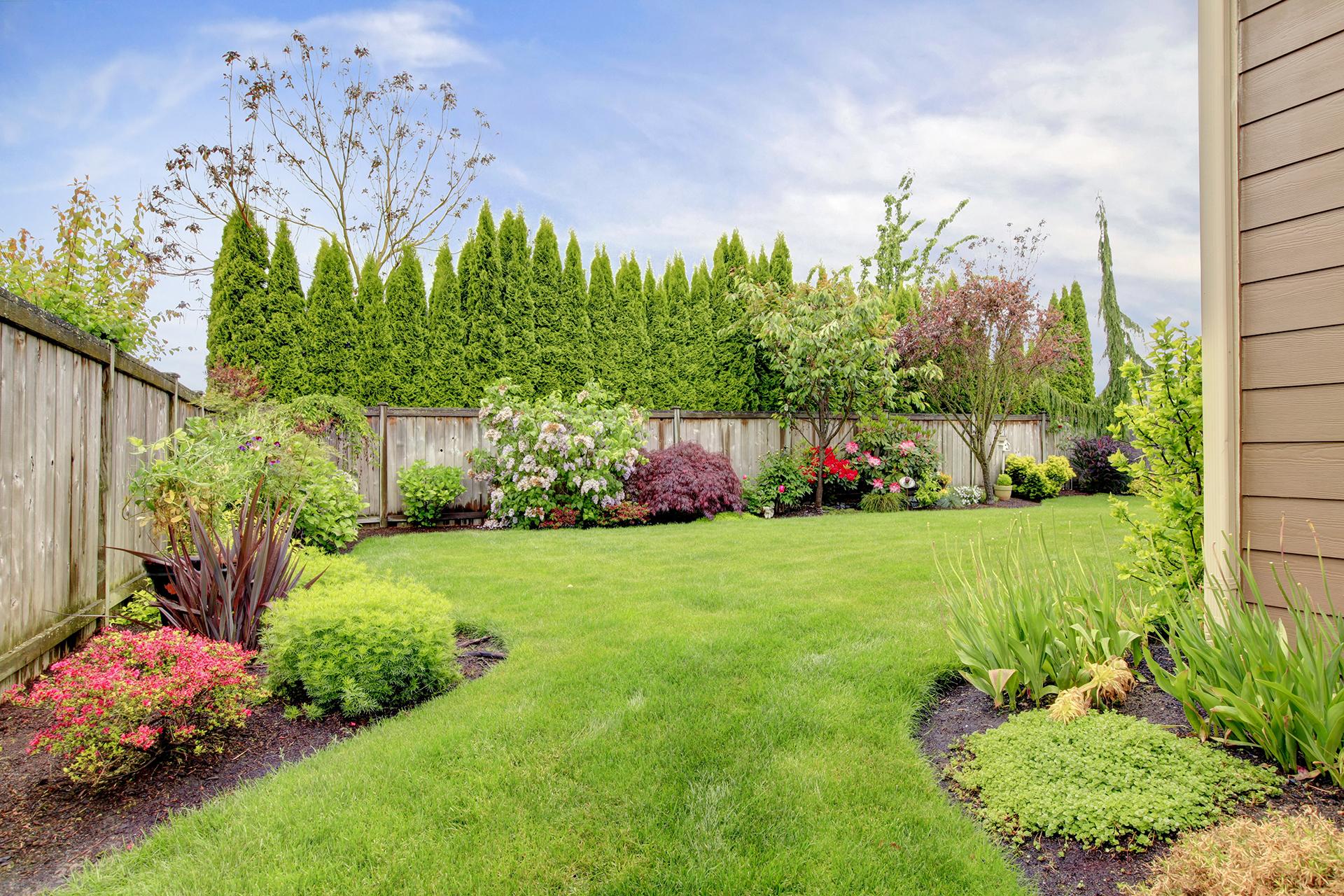 Plenty of room for a beautiful garden