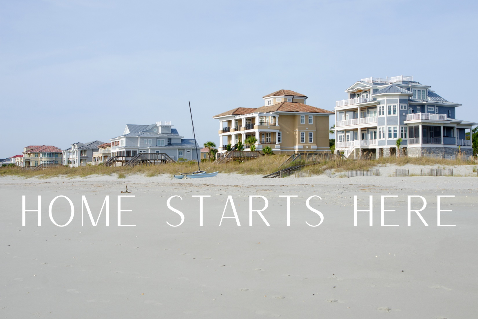 Home Starts Here Banner