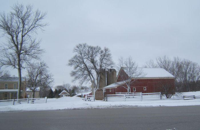 Trimborn Farm in Winter