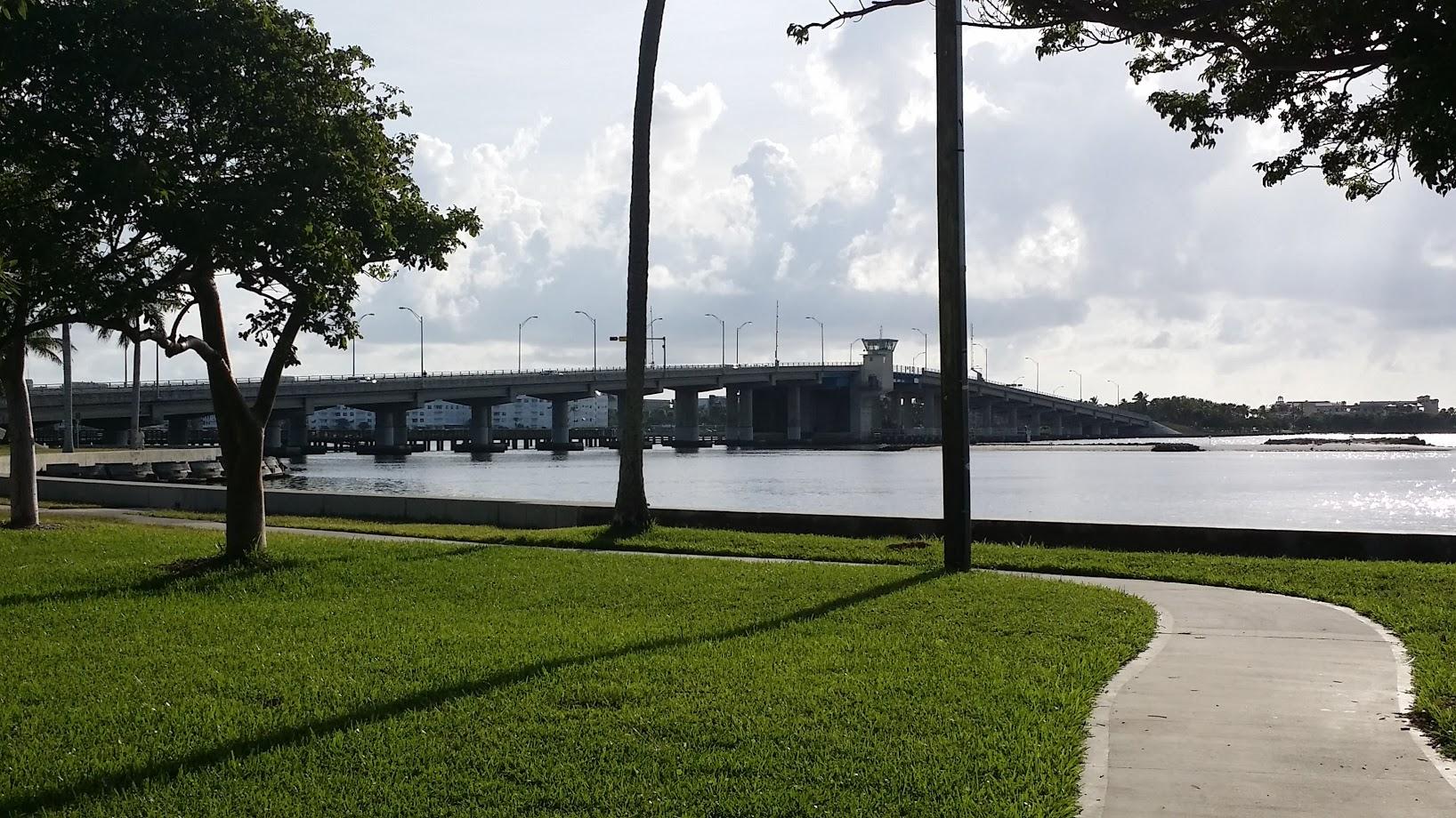 Lake Worth Beach Bridge