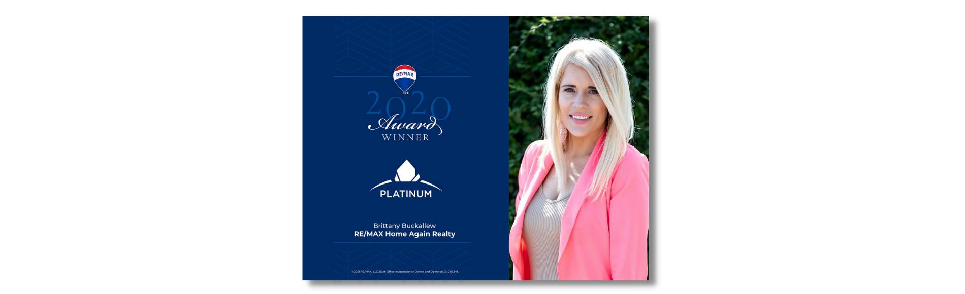 Brittany Buckallew Montana Realtor Award