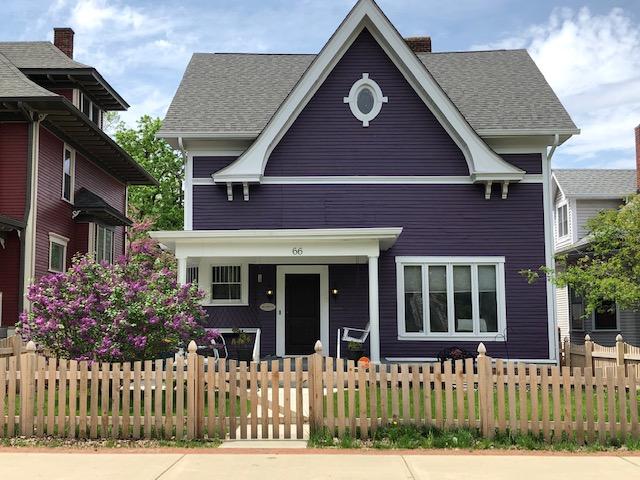 SOLD Irvington's Purple Painted Lady