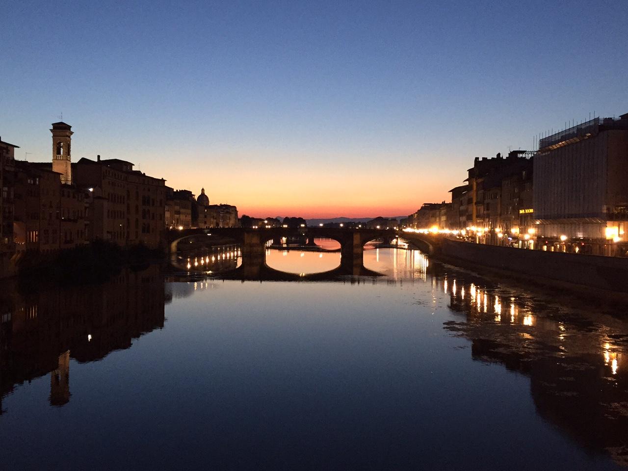 Ponte Vecchio, Firenze Italia