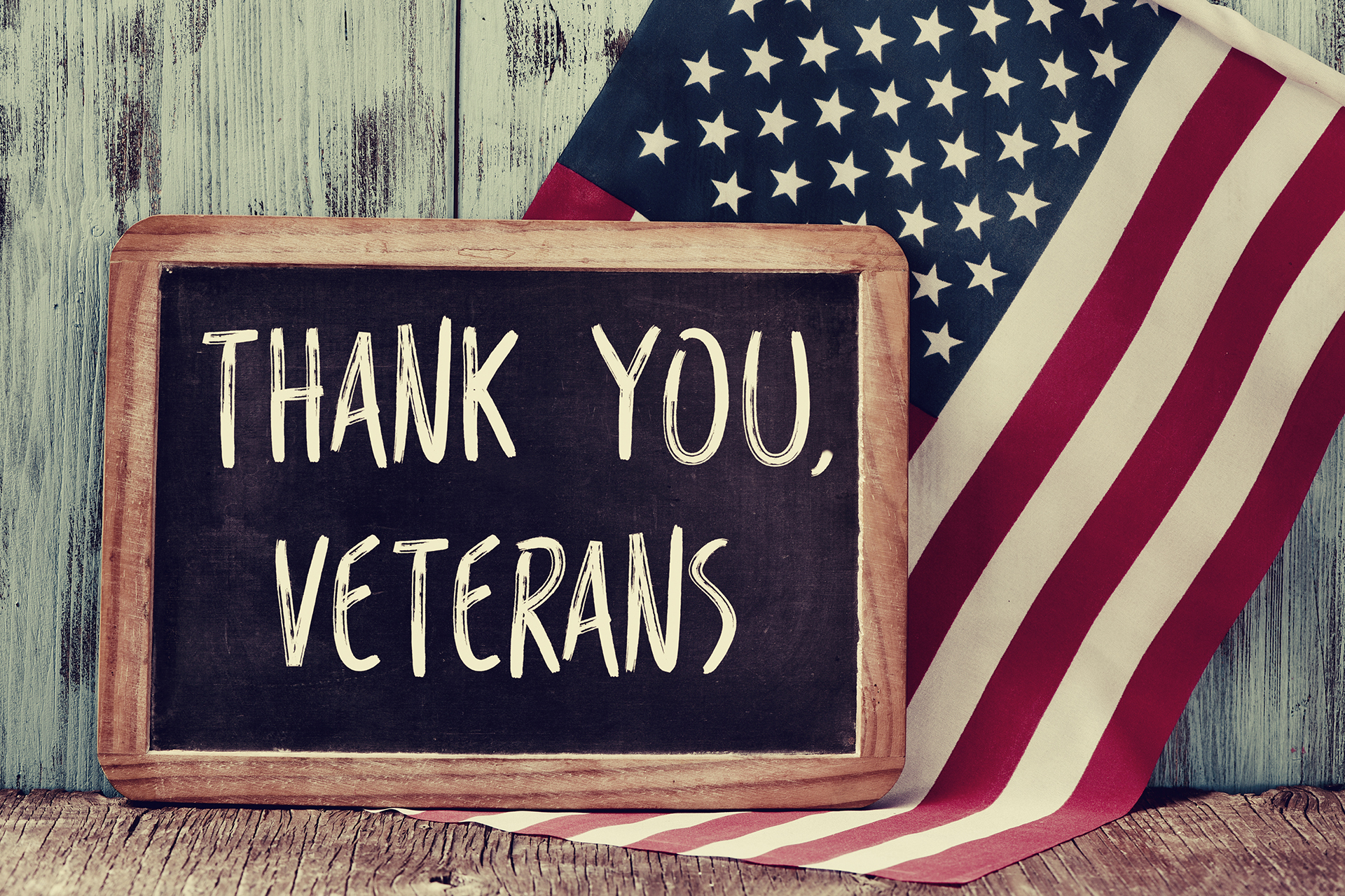 Thank you to our Veterans & Military personnel for your service