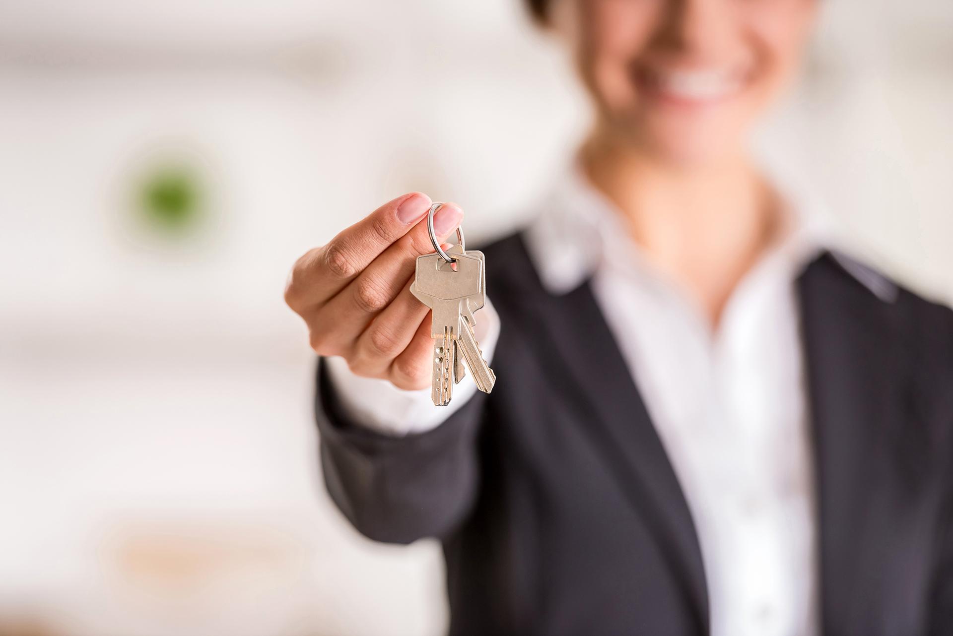 Agent Holding Keys