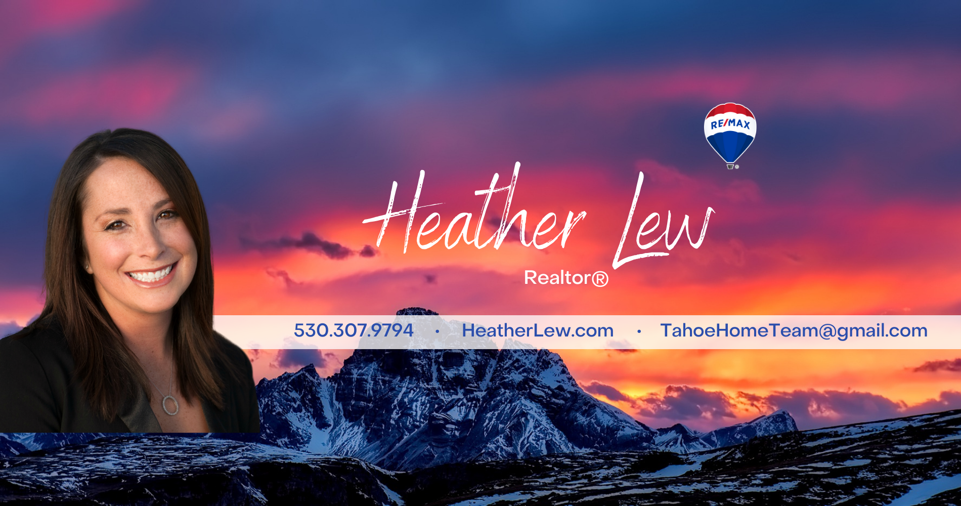 Heather Lew Sells Tahoe Real Estate