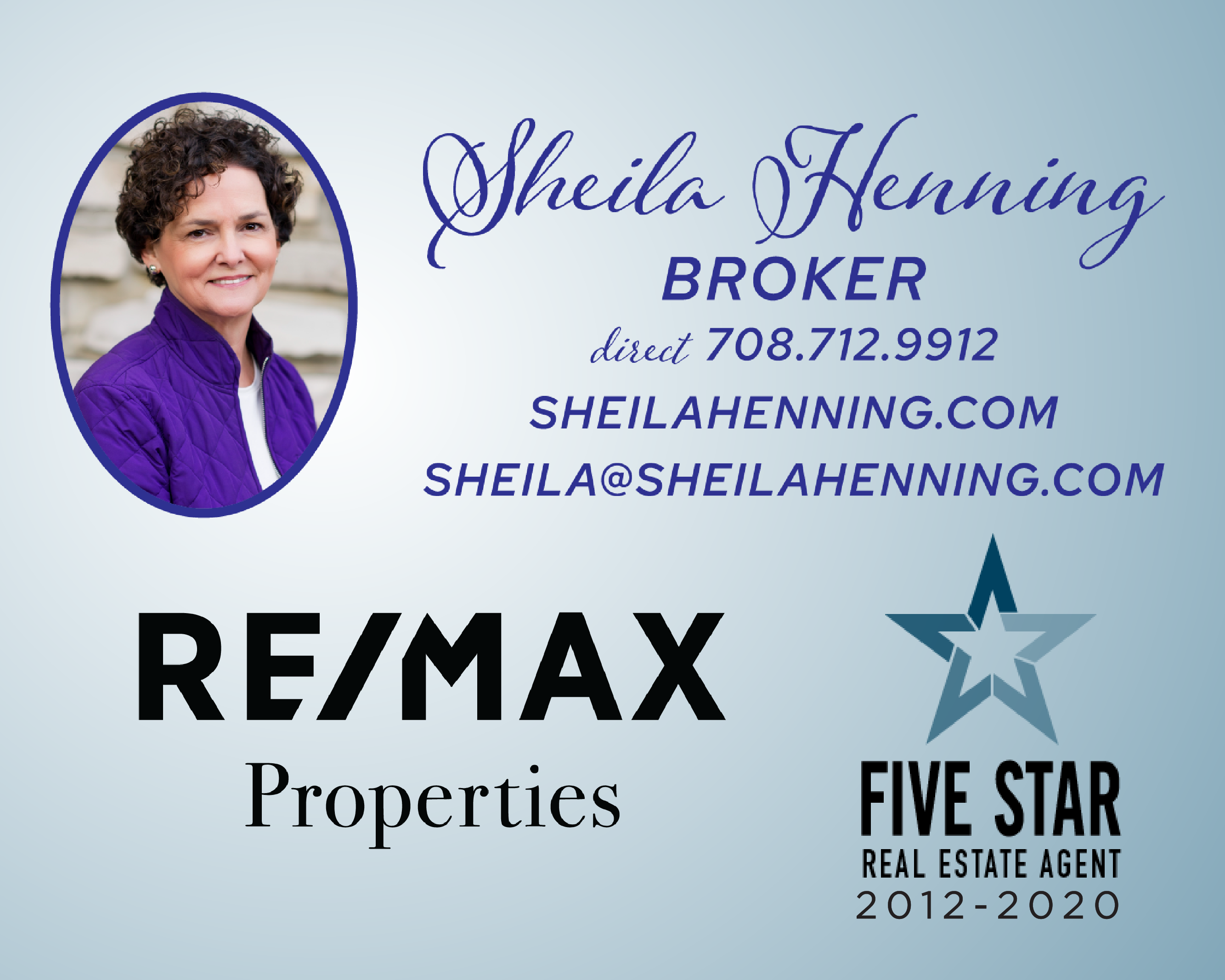 Re/Max Properties, RE/MAX, Sheila Henning, Real Estate