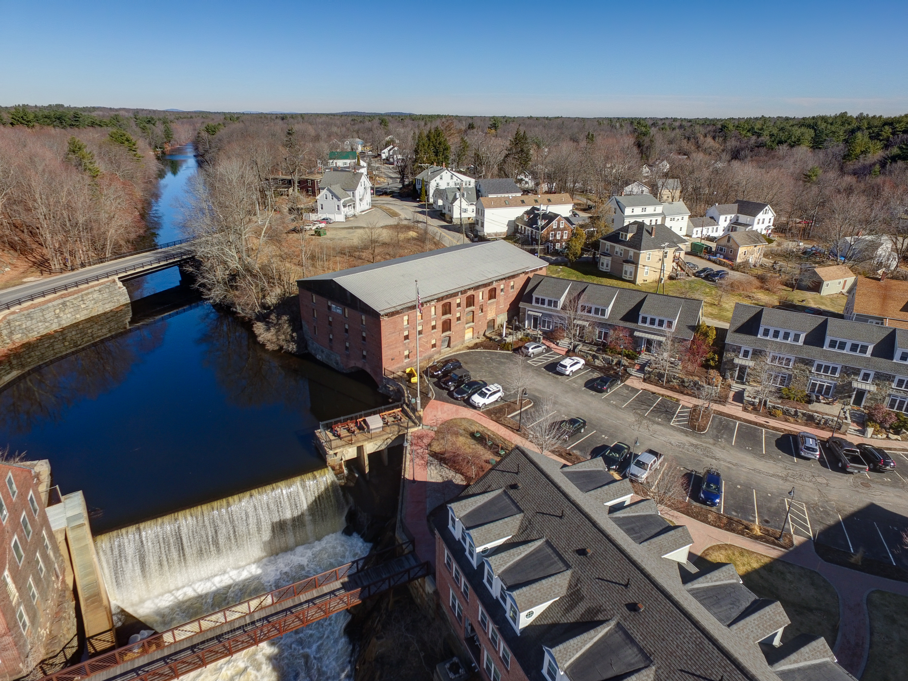 Newmarket Falls and Mill Buildings