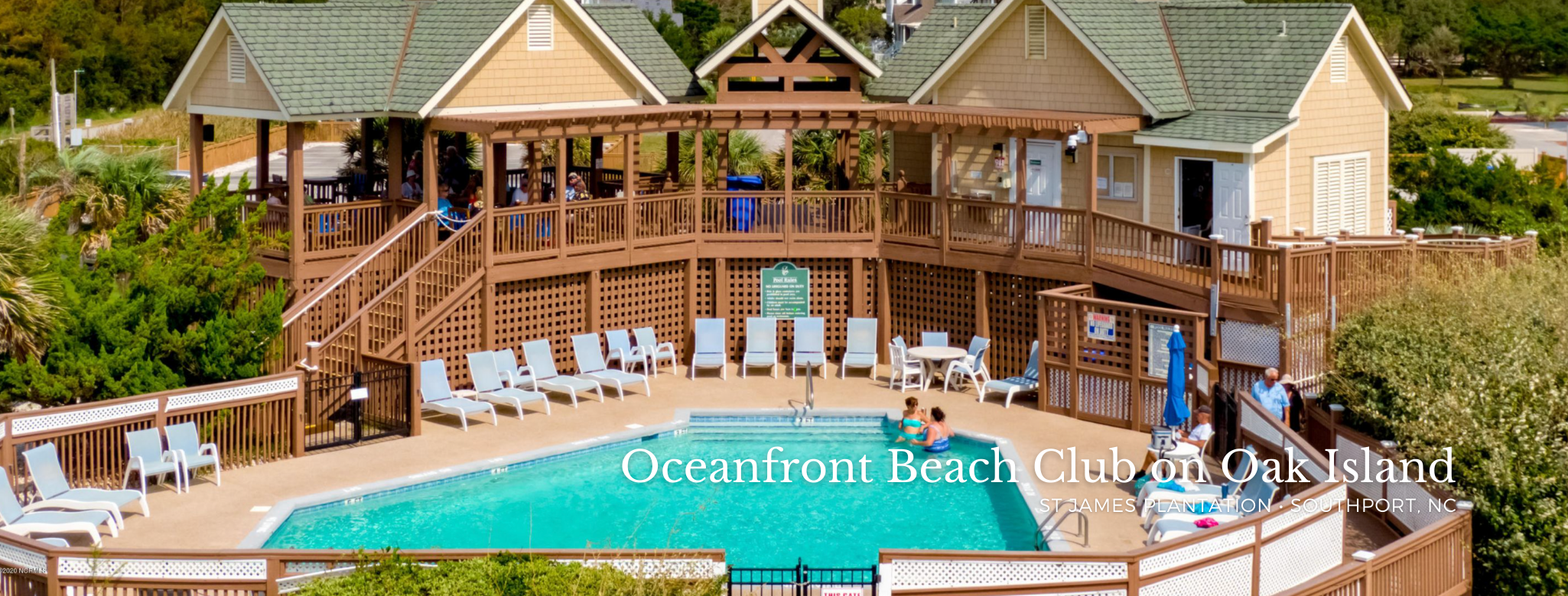 Oceanfront Beach Club on Oak Island in St James Plantation