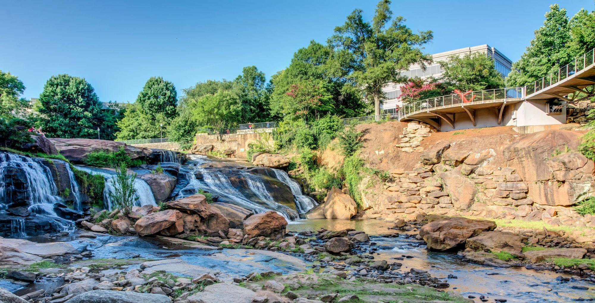 Reedy River, Greenville Sc