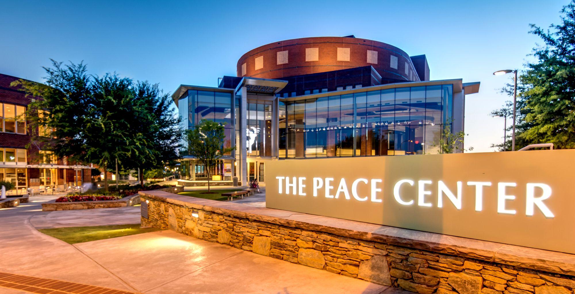 Peace Center Greenville SC