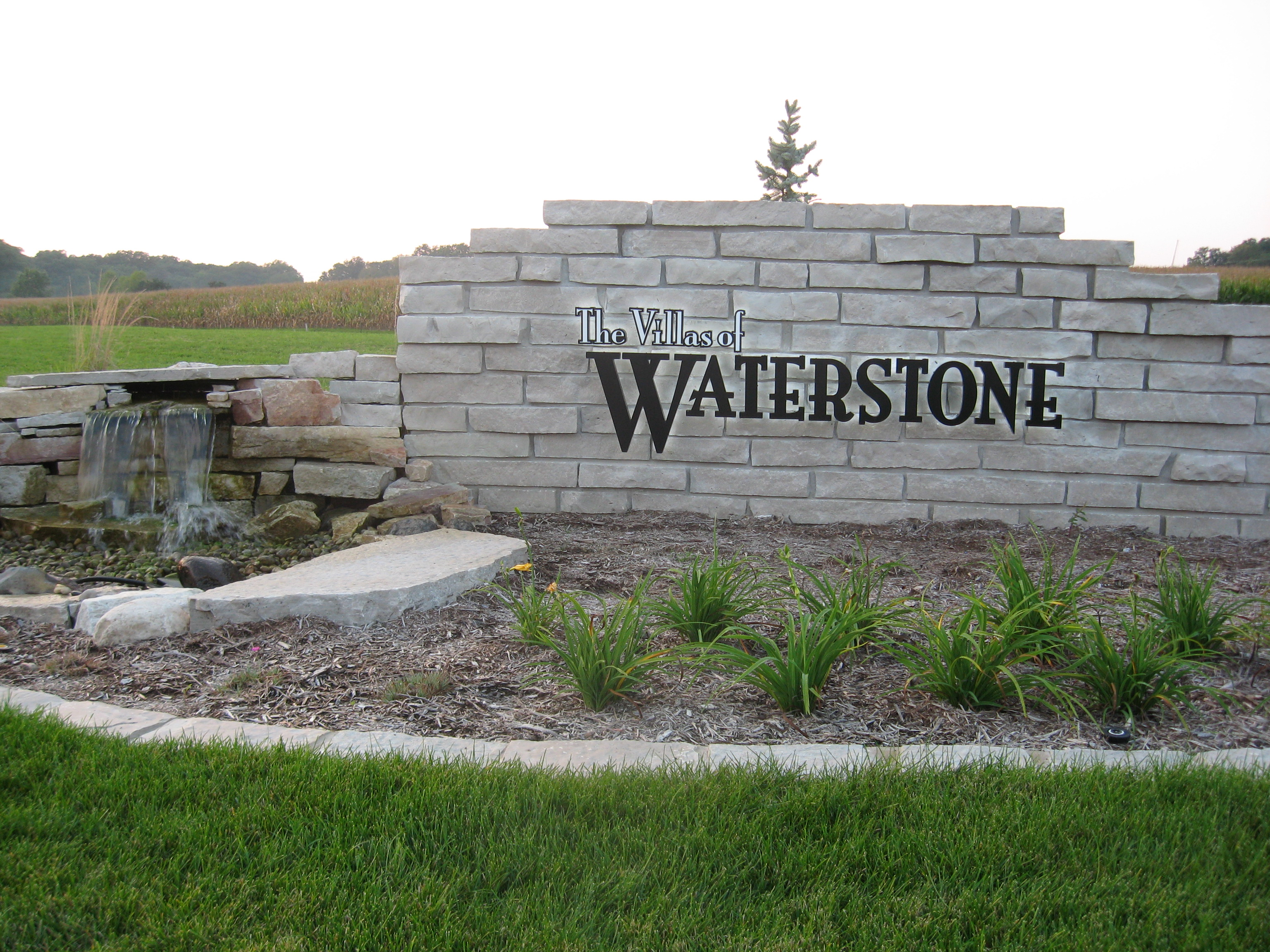 The Villas of Waterstone Entrance