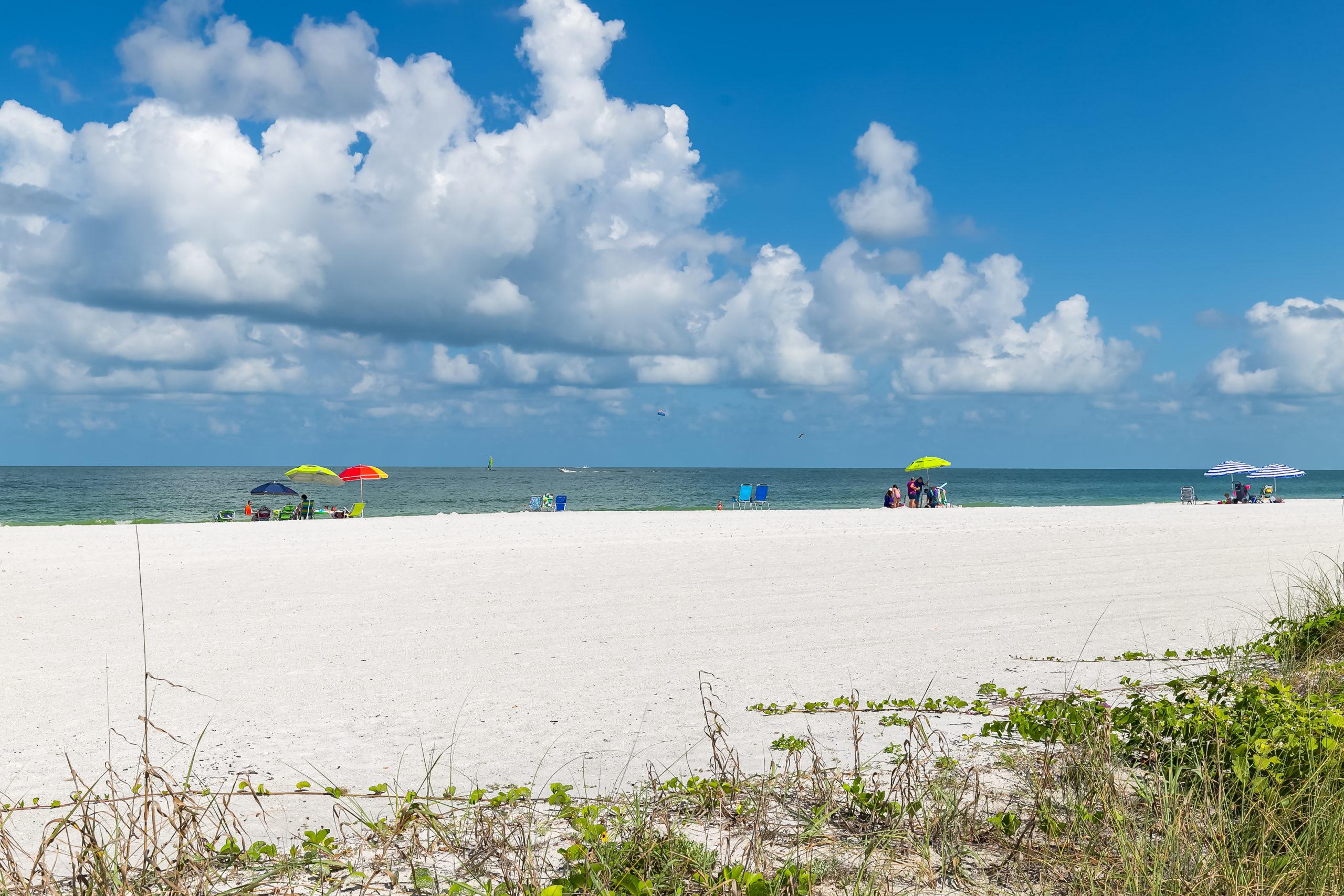 Marco's White Sandy Beach