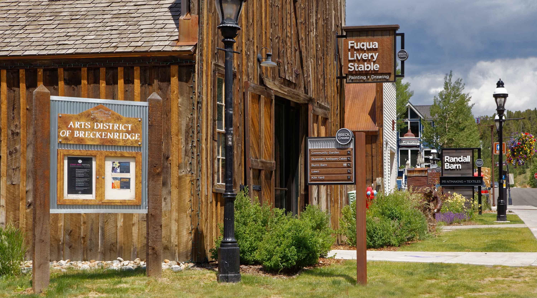 Breckenridge Colorado Arts District