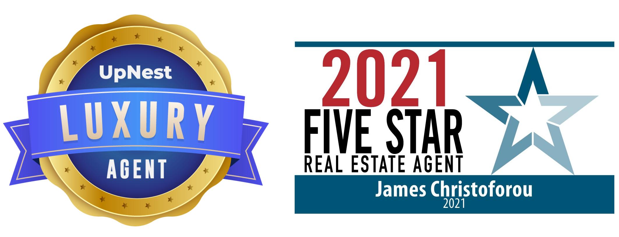 Five Star Real Estate Agent Award 2021