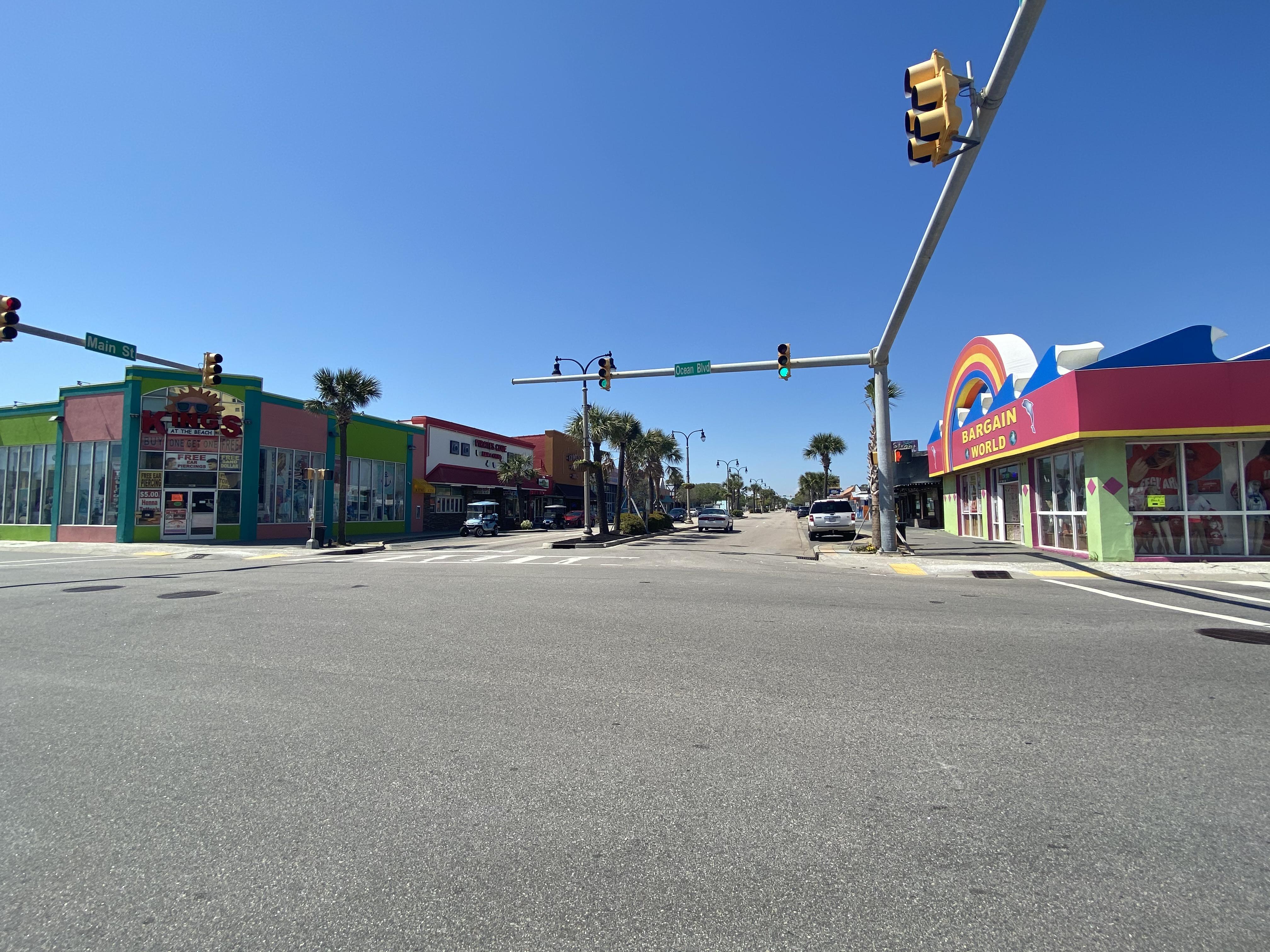 Ocean Drive Shops & Restaurants