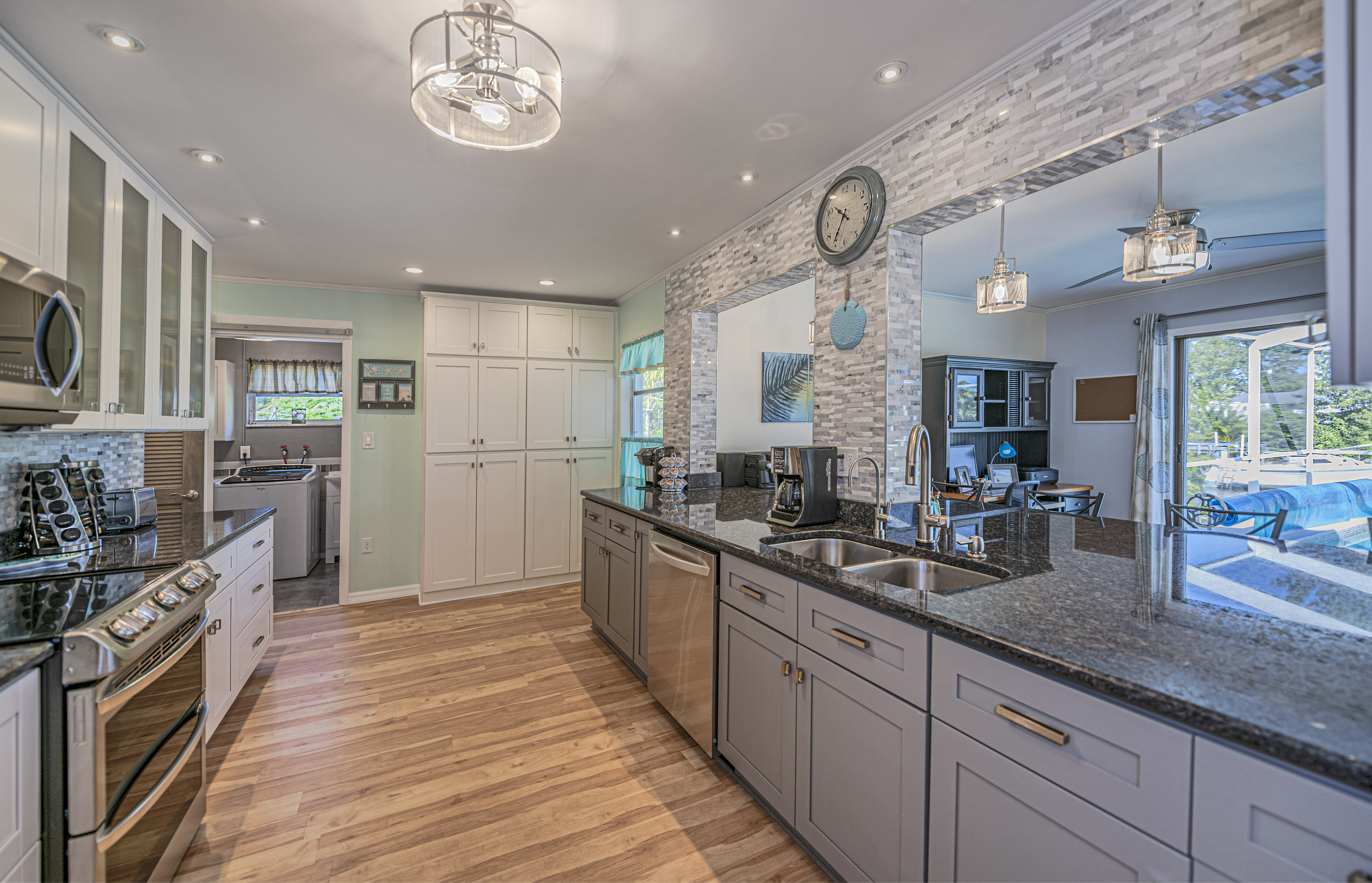Waterfront Kitchen with Granite