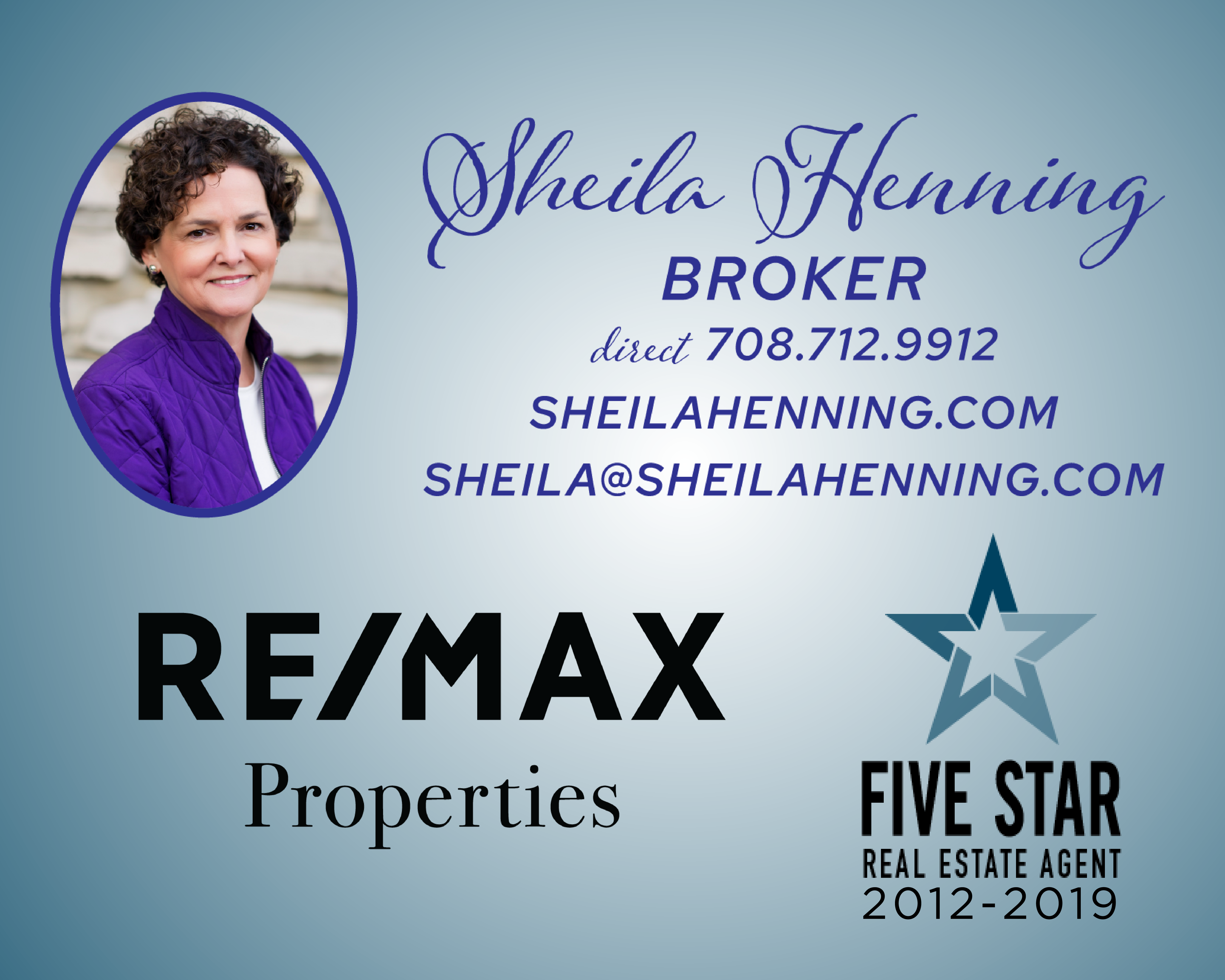 REMAX, RE/MAX Properties, Sheila Henning, Real Estate