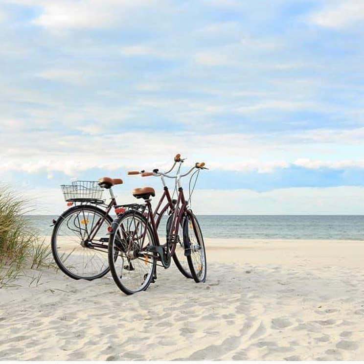 HHI bike on beach