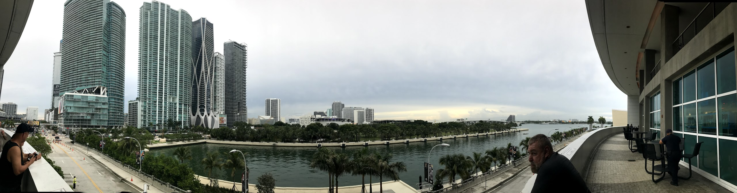 DT Miami from the AA Arena
