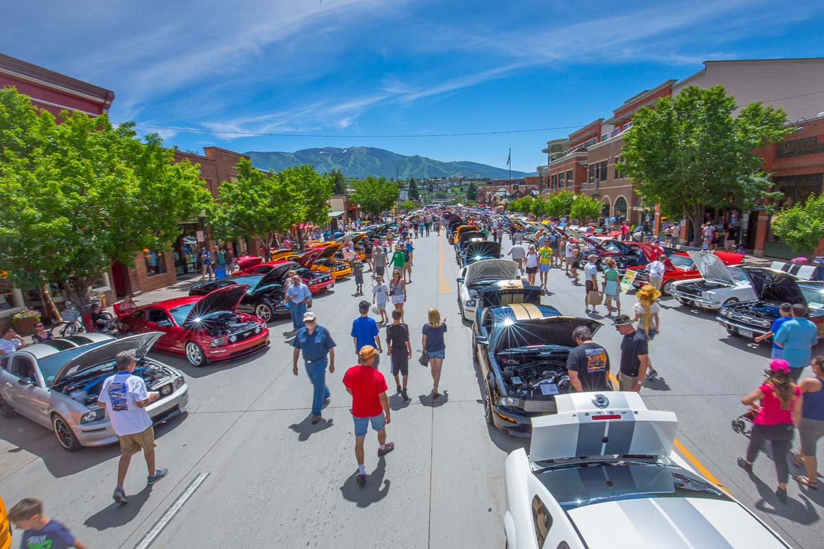 The Mustang Rally in historic downtown Steamboat Springs