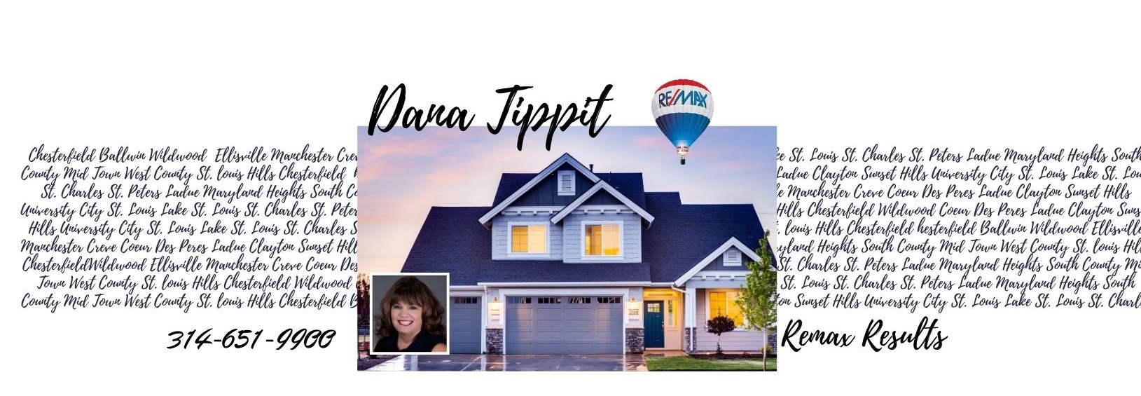 Dana Tippit Luxury Home Marketing Specialist REMAX Chesterfield Wildwood REMAX