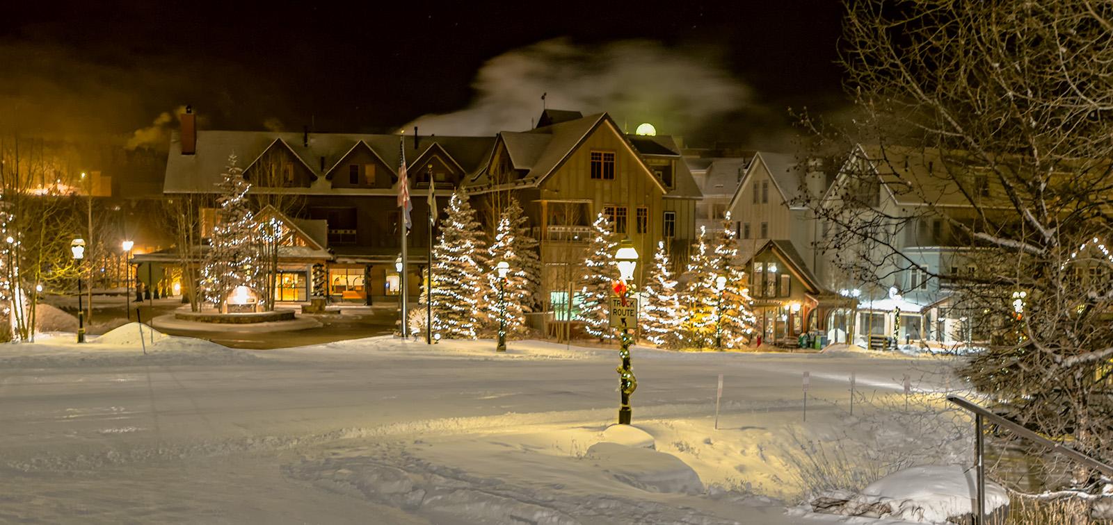 Breckenridge Colorado Downtown Winter