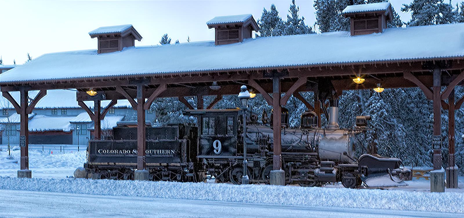 Breckenridge Colorado Steam Engine