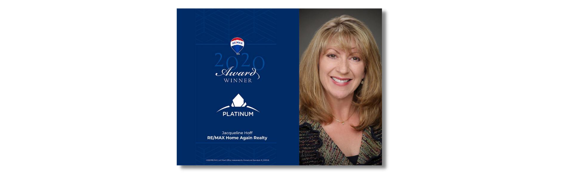 Jaqueline Hoff Montana Realtor Award