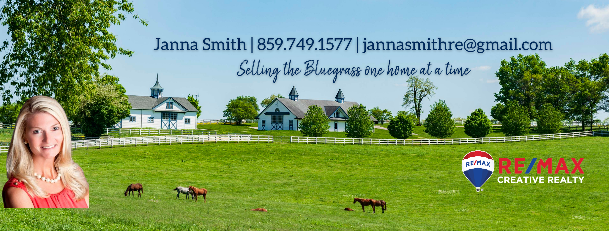 Janna Smith, Realtor, Horse Farms