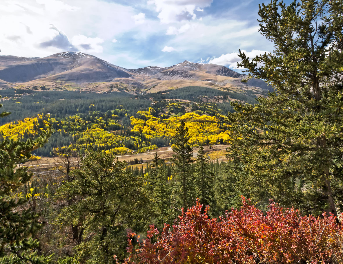 Autumn on the Continental Divide Colorado