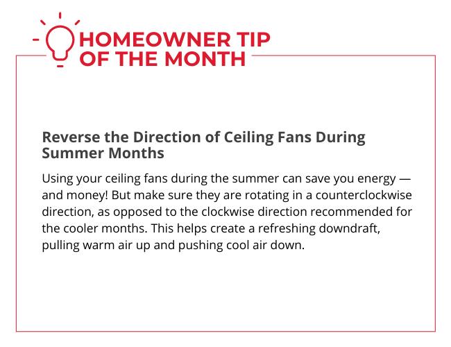Homeowner Tip