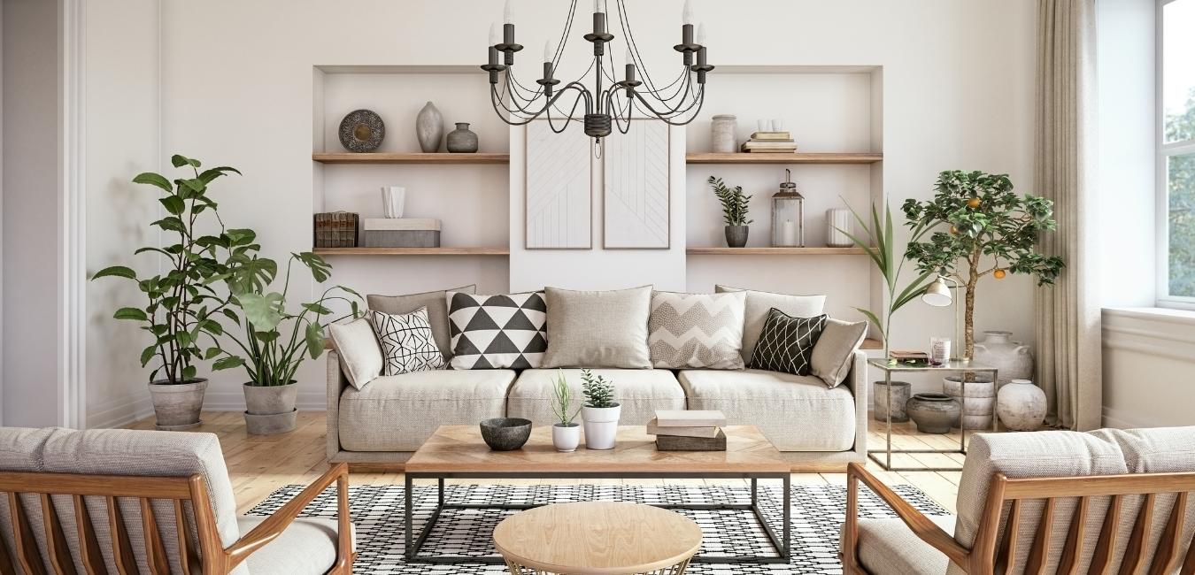 Living Room in Carol Stream