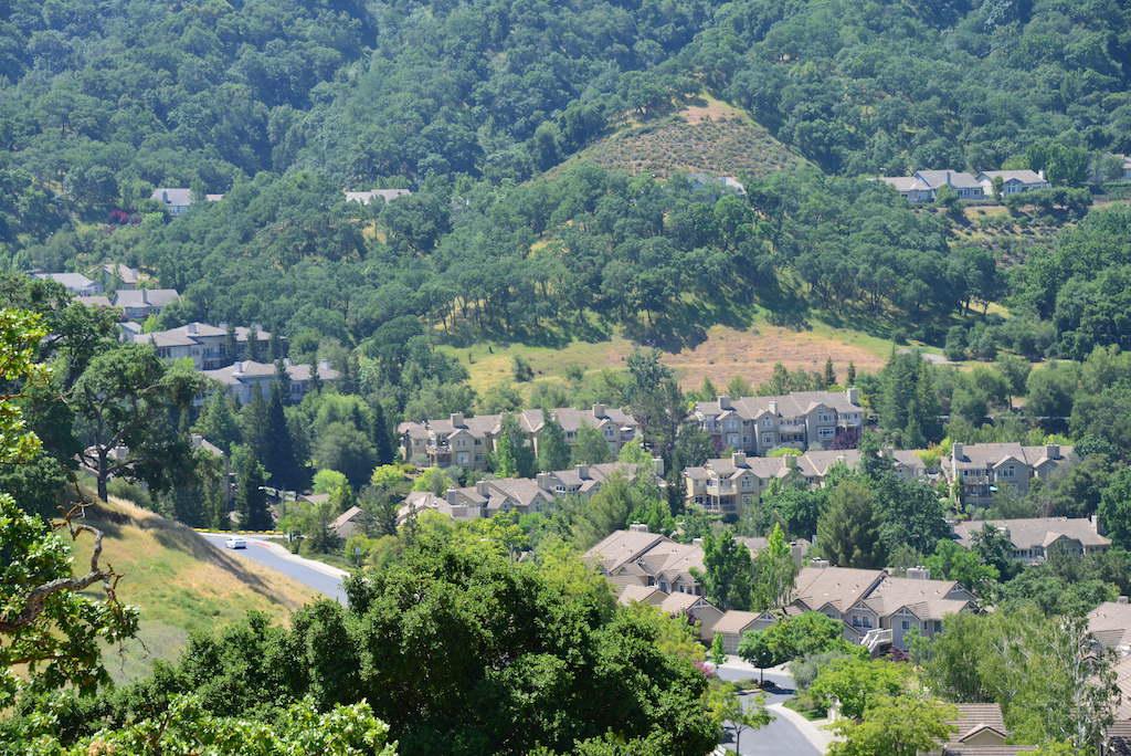 Rossmoor Valley overlooking condos