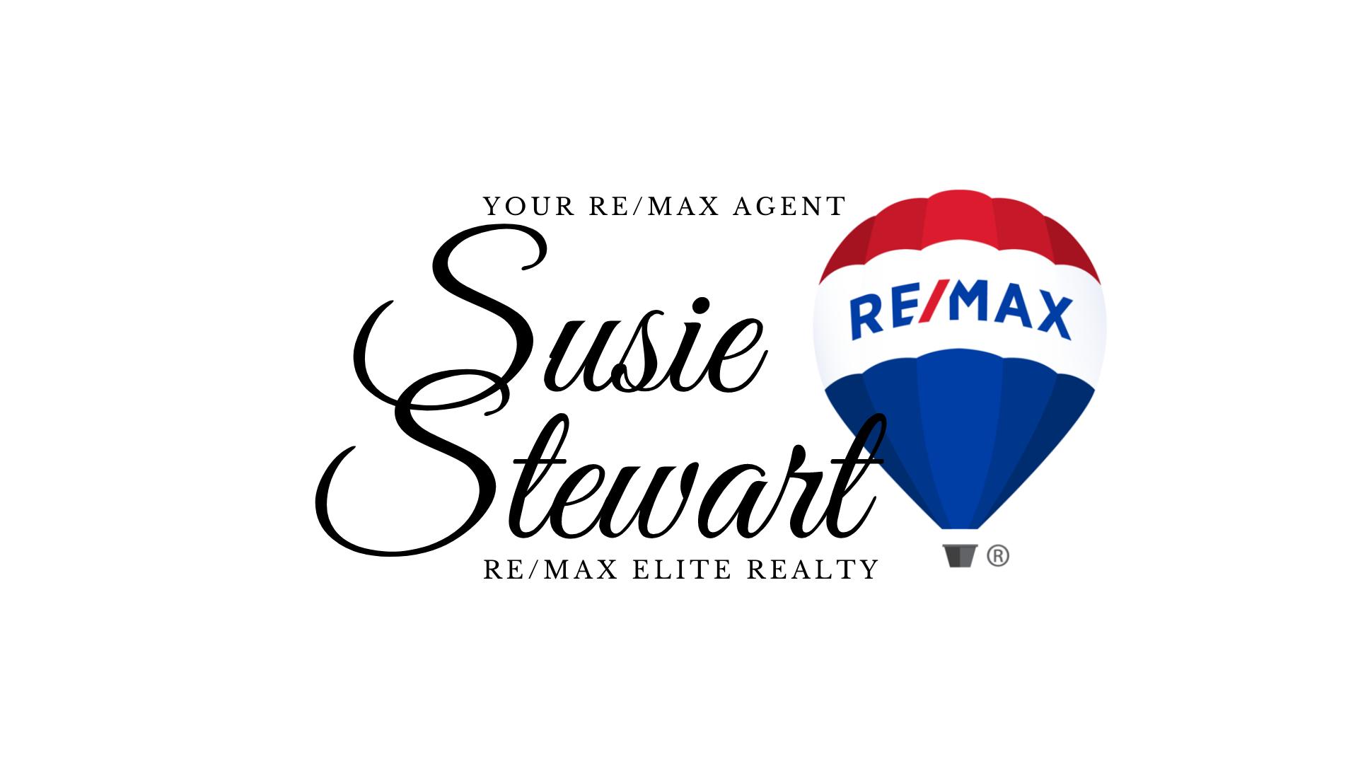 Susie Stewart REALTOR Your REMAX Agent
