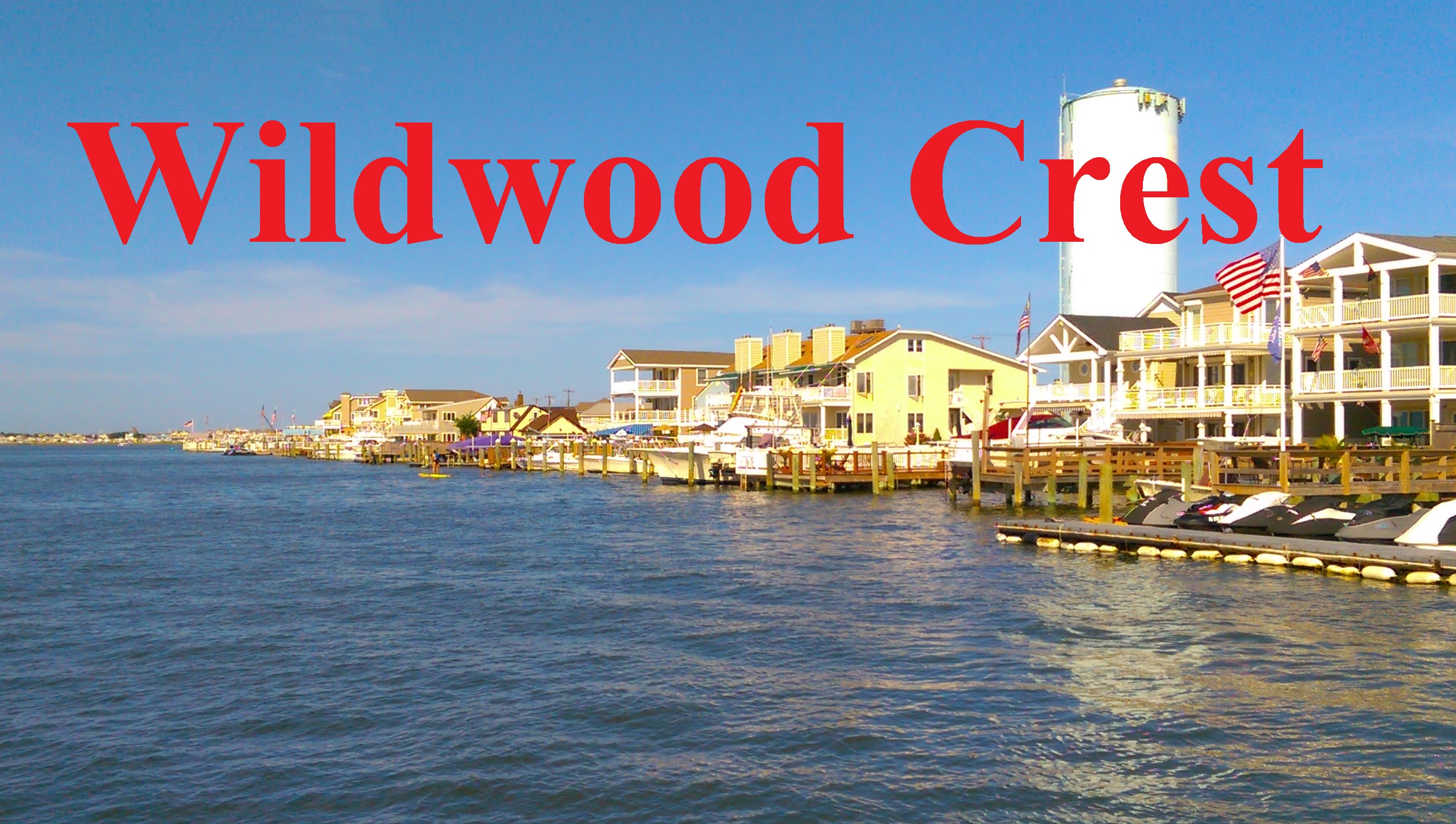 Wildwood Crest Sunset Lake